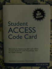 Student Access Code to MasteringA&P witheText for Human A+P, 9/E for SUNY Orange