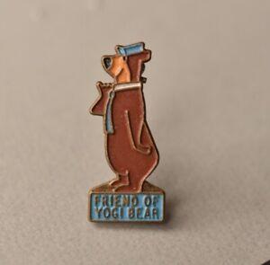 Vintage Friend Of Yogi Bear pin Badge Kelloggs cereal promo Pin  badge 1960s