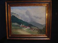 Tableau de St Julien (en montagne) par A. Rives 1935 ou 55
