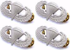 4 X US Armed Forces Airborne Basic Parachutist Badge aka Jump Wings