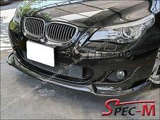 04-10 BMW E60 E61 535i 550i M-Tech Only HG Style Front Carbon Fiber Bumper Lip