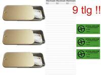 Set Paket Geocaching magnetische Dosen Verstecke Geocache+ Logstreifen
