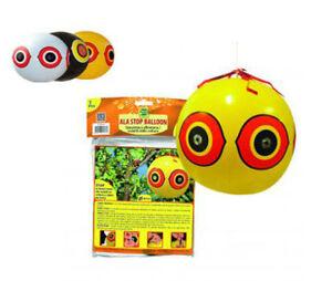 1 Ala Stop BALLON pallone 40 cm Spaventapasseri Dissuasore scaccia uccelli