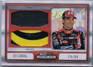 JEFF GORDON - MASTERPIECES - RACE USED FS & SM - 74/99 - HALL OF FAME