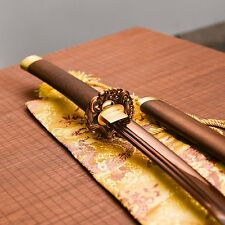 hand forged katana red damascus Unokubi-Zukuri blade japanese samurai sword