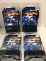 Set Of 4 -2006 Hot Wheels Mystery Car Factory Sealed In Bubble Pack
