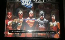 THE DC VAULT - MUSEUM IN A BOOK - HARDCOVER BOOK BOX SET- alex ross cover