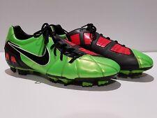 Nike T90 Laser 3 2009 Football Boots Soccer AFL Men's US 10.5 - EUC