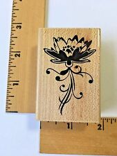 Inkadinkado Rubber Stamps - Water Lilly 99608 LL - NEW