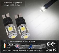 LED SMD Wedge T10 W5W 501 White Strobe Police Flash Parking Bulbs Sidelights 12V