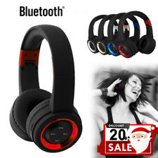 New ListingBluetooth Wireless Headphones Over Ear Headset Noise Cancelling W/ Microphone L