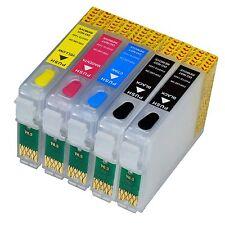 Refill Set CISS + Nachfülltinte für Epson 2 x T0711H T1002 T1003 T1004 kein OEM