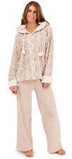 Women's Long Sleeve Fleece pyjamas set Lingerie & Nightwear