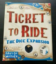 Ticket to Ride The Dice Expansion - Rare - Excellent Used Condition