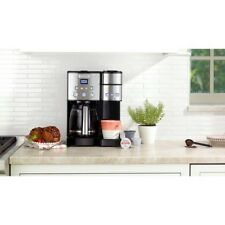 Coffee Maker 12 Cup Single Serve Brewer 1200W Black Programmable Cuisinart K Cup