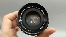 >TESTED Japan FUJI FUJINON f1.8 55mm V. Sharp Lens M42 Mount Camera FULL WORKING