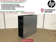 HP Z620 Workstation 2x Xeon E5-2620 2.00GHz 16GB 1TB SATA HDD Quadro NVS 300