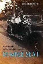 Rumble Seat: A Victorian Childhood Remembered by Helen Piddington (Hardback,...