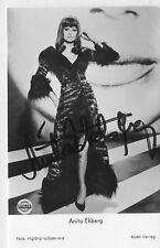 Anita Ekberg+ - original signierte tolle Rüdel Autogrammkarte Nr.4625