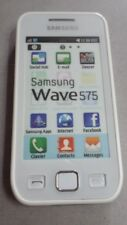 TELEPHONE *** FACTICE *** Smartphone SAMSUNG WAVE 575 / Blanc