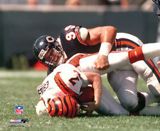 DAN HAMPTON CHICAGO BEARS c.1985 Classic Sack NFL Football Premium POSTER Print