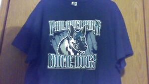 Eagles Philadelphia Home Dogs T-Shirt NWOT Black XL mint