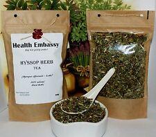Hyssop Herb Tea 50g - Health Embassy - Hyssopus officinalis - herba 100% Natural