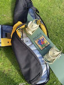 151cm Joyride Snowboard (inc. bindings) + Burton 166 Bag, Glasses & Size 8 Boots