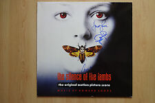 """The Silence of the Lambs AUTOGRAFI SIGNED LP-COVER """"colonna sonora"""" vinile"""