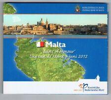 MALTA  2012 DAG VAN DE MUNT GUEST OF HONOUR EURO 8-COINSET BU BLISTER