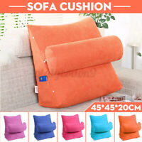 Sofa Backrest Cushion Chair Support Pillow Chaise Lounge Bed Office Waist Pad
