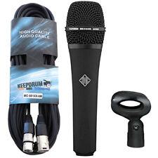 Telefunken M80 Black dynamisches Mikrofon + XLR-Kabel