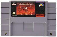 🎇 Spider-Man and Venom 🎇 SUPER NINTENDO 🎇 SNES NTSC Video Game Cartridge