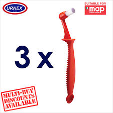 3 x Urnex Group Head Cleaning Brush Back Flush for Map Coffee Machine