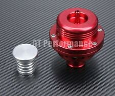 Dump Valve Double Pistons Aluminium forgé universel Rouge blow off pchit red