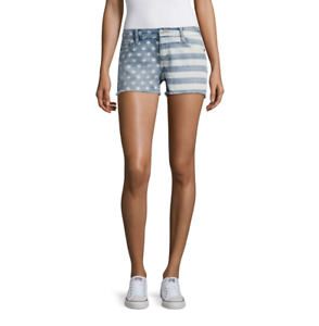 Arizona American Flag Shorts Juniors Size 1, 3, 11 New