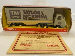 """1981 #929 Tiny Tonka Highway Van """"Taylor & McKenna"""" Canadian Private Label With"""