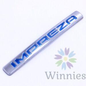 02 03 04 05 Subaru Impreza Trunk EMBLEM Badge OEM Ornament Rear Nameplate Letter