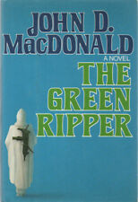 MYSTERY: THE GREEN RIPPER By JOHN D. MACDONALD ~ HC/DJ 1979