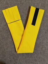 Yellow Cordura Horse Tail Bag