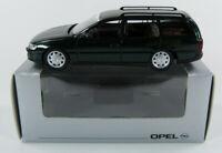 Opel Omega Caravan dschungelgrün Opel Werbemodell Schuco 1:43 OVP [K11]