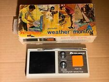 Vintage MIDLAND Severe Weather Warning Alarm Monitor Station Model 13-902B w/BOX