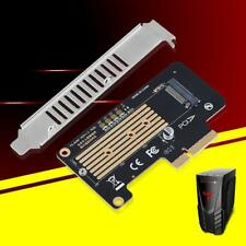NGFF M.2 Mkey NVME SSD to PCI-E X4 X8 X16 Expansion Riser Card Converter Adapter