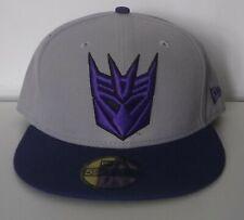 New Era Transformers Decepticons Symbol Grey Purple 59fifty size 7 1/2