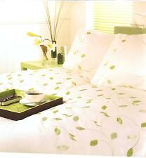 CREAM HARVEST EMBROIDERED DOUBLE DUVET  SET HELENA SPRINGFIELD DESIGNER RANGE