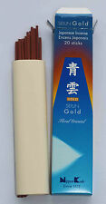 Japanese Incense | Quality Collection | Seiun Gold Floral Oriental | Nippon Kodo
