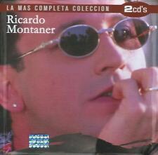 Ricardo Montaner CD NEW La Mas Completa Coleccion SET Con 2 CD's 32 Canciones !