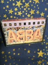 ABBA LIVE cassette tape from Portugal