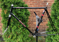 59cm Black Schwinn Super Le Tour 59in Road Bicycle With Frame And Headset