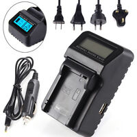 LCD Battery Charger For LP-E8 Canon 550D 600D 650D 700D Rebel T2i T3i T4i T5i
